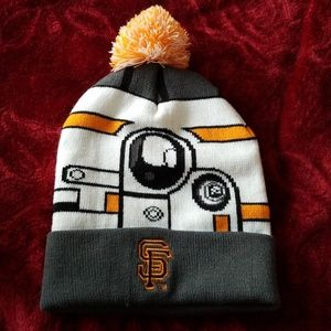 Other - Two SF Giants Star Wars Beanies